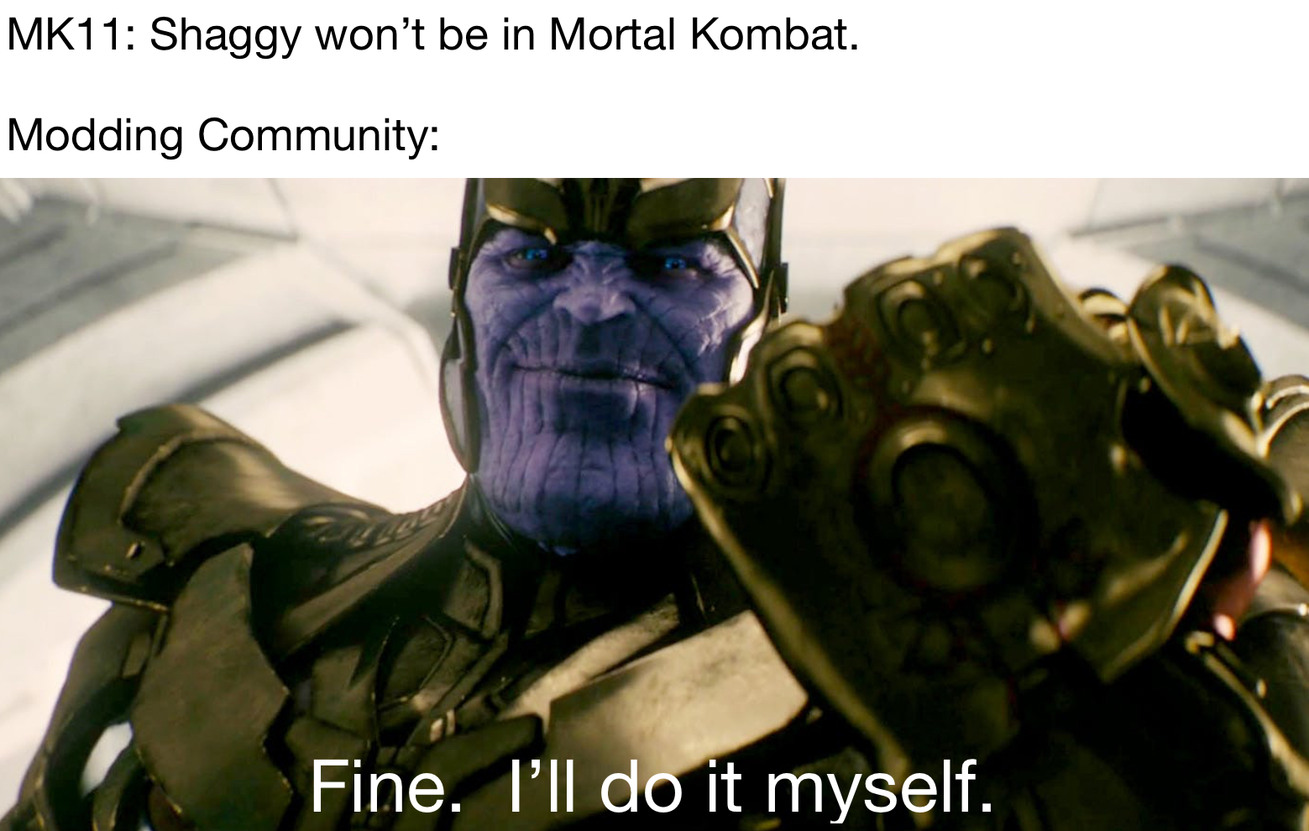 Who else hyped for mk11 - meme