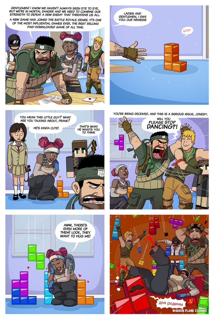 Tetris 99 - meme