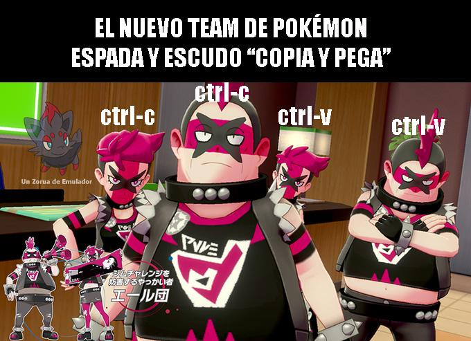 Un team formado por dos... - meme