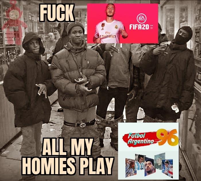 FUTBOOOL AAAARGENTINO 96 - meme