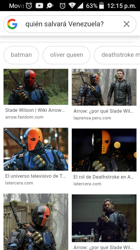 Es mi personaje favorito de Arrow. - meme