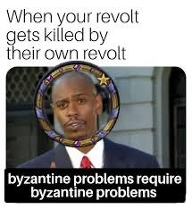 Byzantine - meme