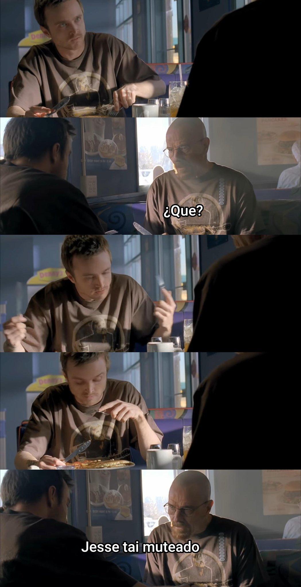 Jesse estai muteado - meme