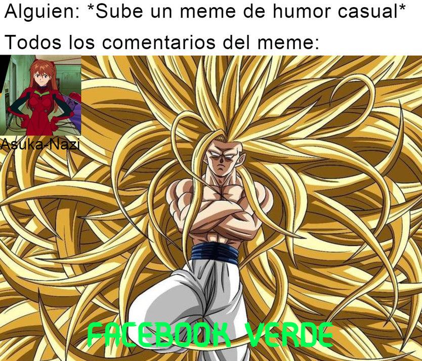 FACEBOOK VERDE - meme