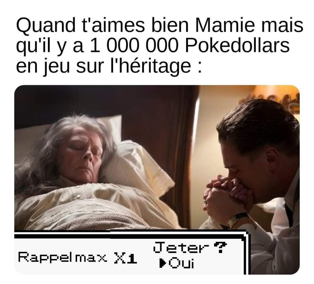La resurrection par le rappel max - meme