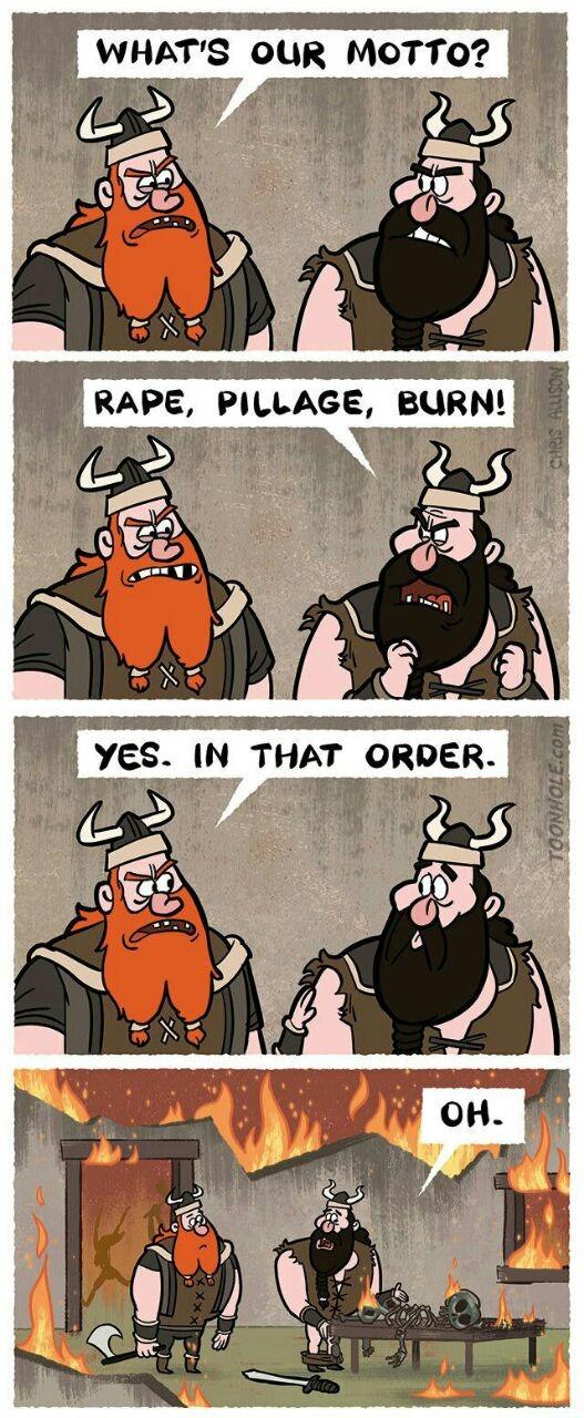 Order is imp - meme