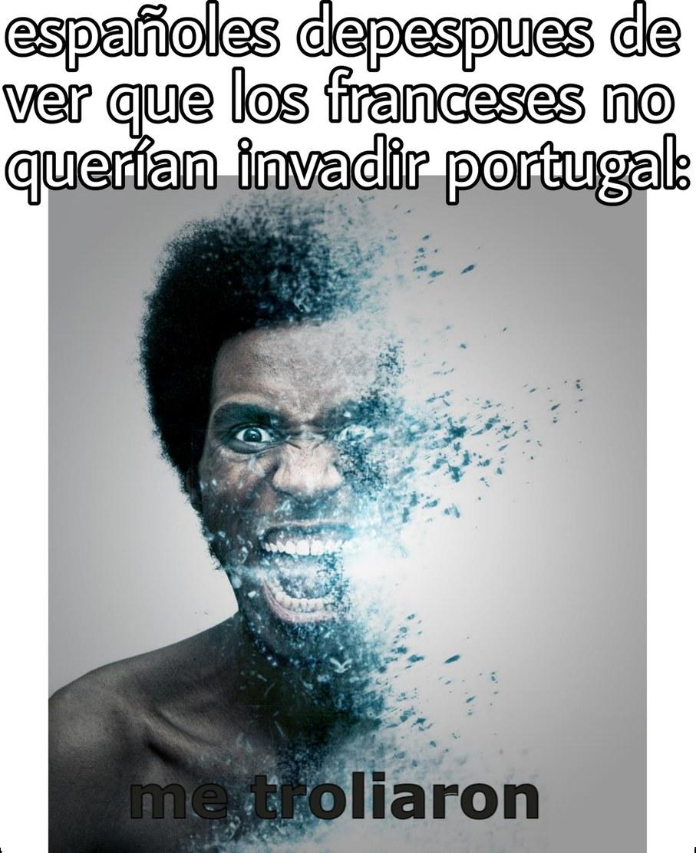 Franceses: troleador cara - meme