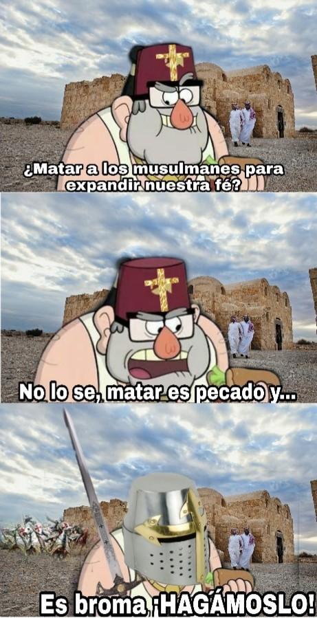 Otro meme de cruzadas