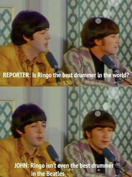 best drummer - meme