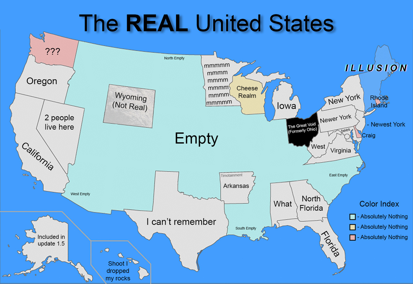 "United States ""of"" America - meme"
