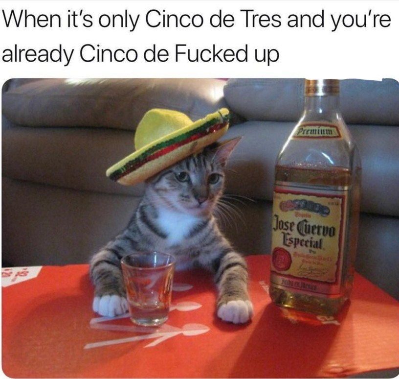 Its tequila time! - meme