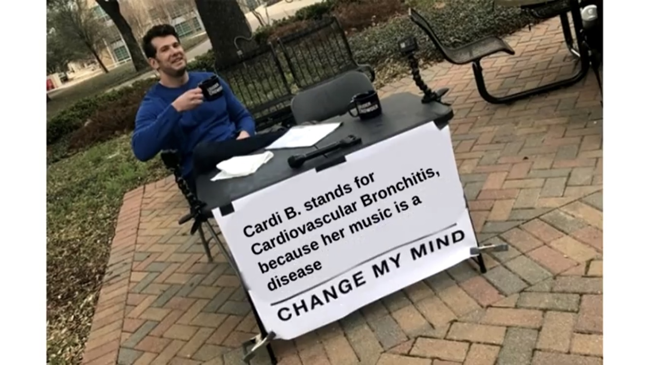change my mind - meme