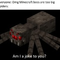 Spiders are big
