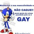 Não seje gay bro