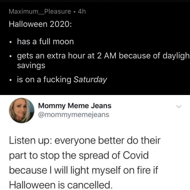 I'm already excited for Halloween - meme