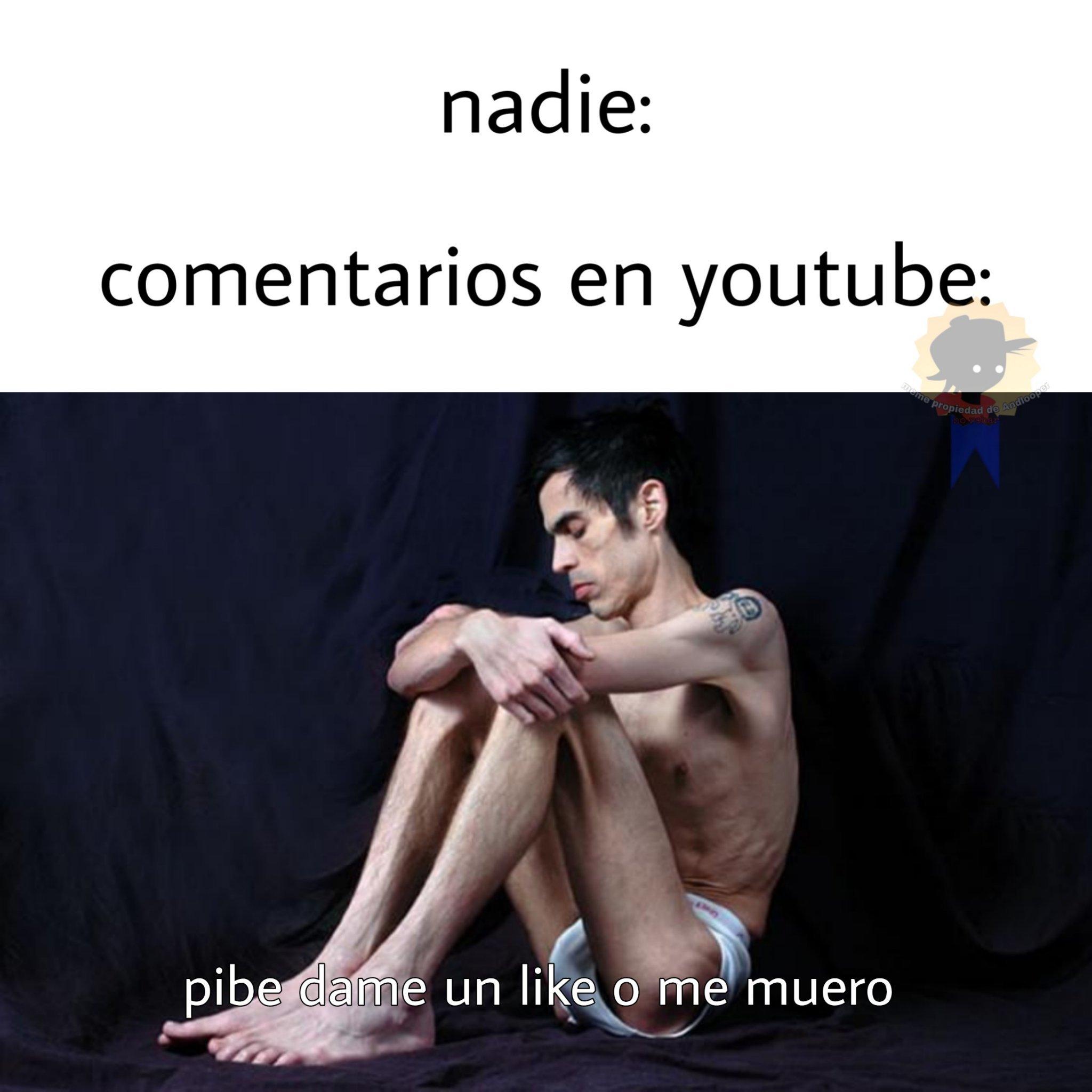 Confirmo, puros mendigos de likes - meme