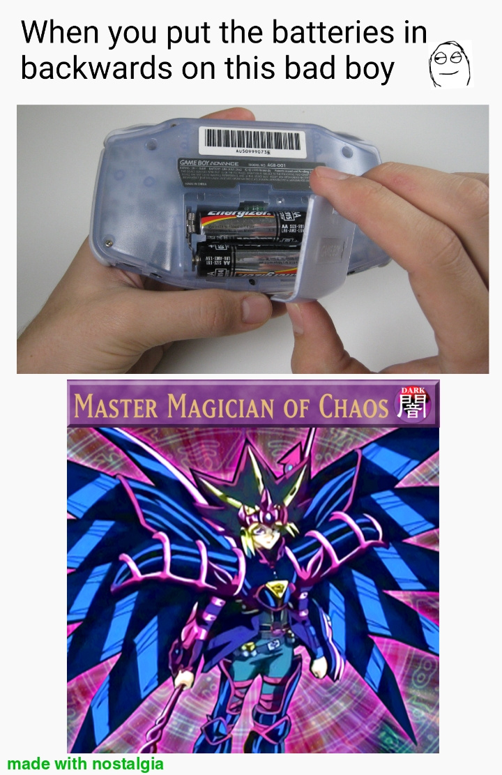what's your favorite GBA game? - meme