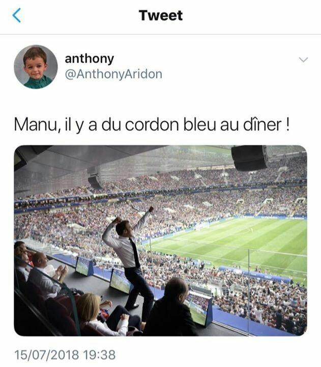 OUAIIIIIIIIIIIIIIS DU CORDON BLEUUUUUUUUU - meme