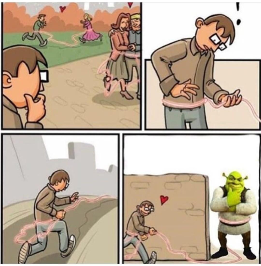 Shrek is love. Shrek is life - meme