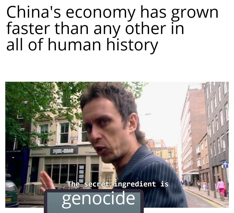 Uigher Muslims - meme