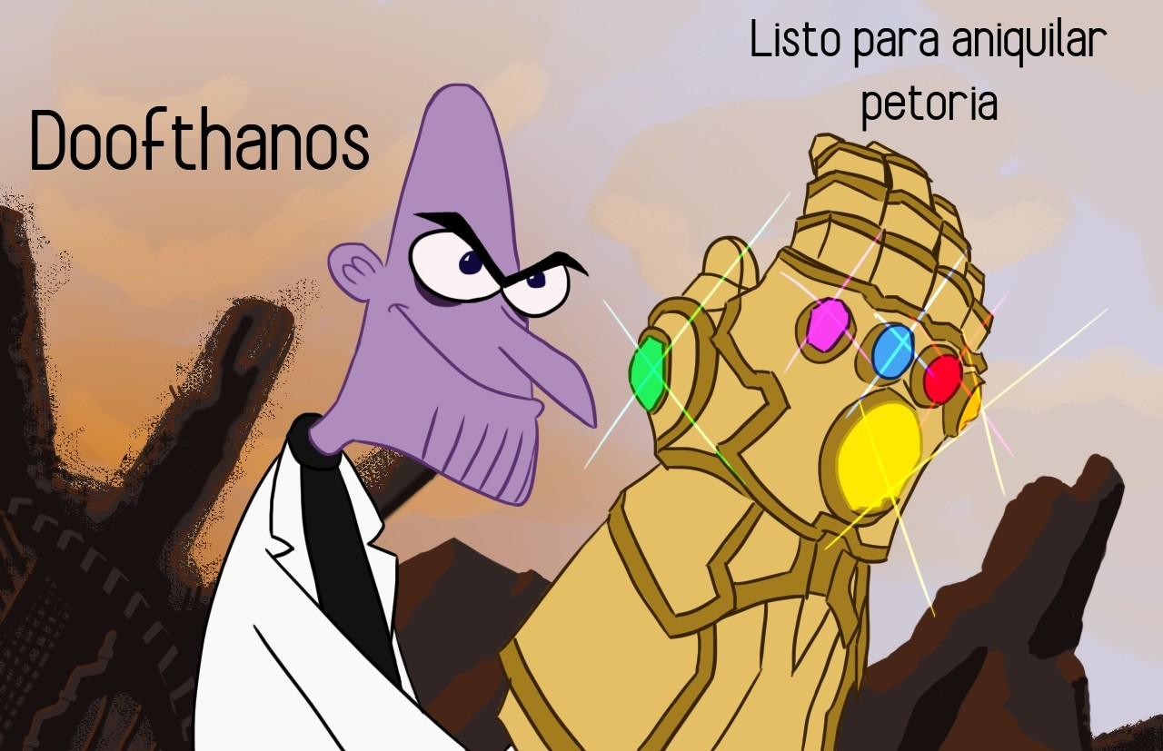 Doofthanos - meme
