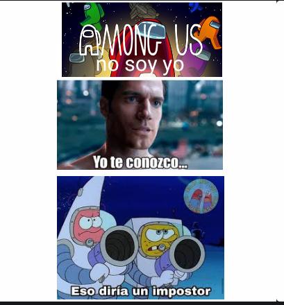 Amog us - meme