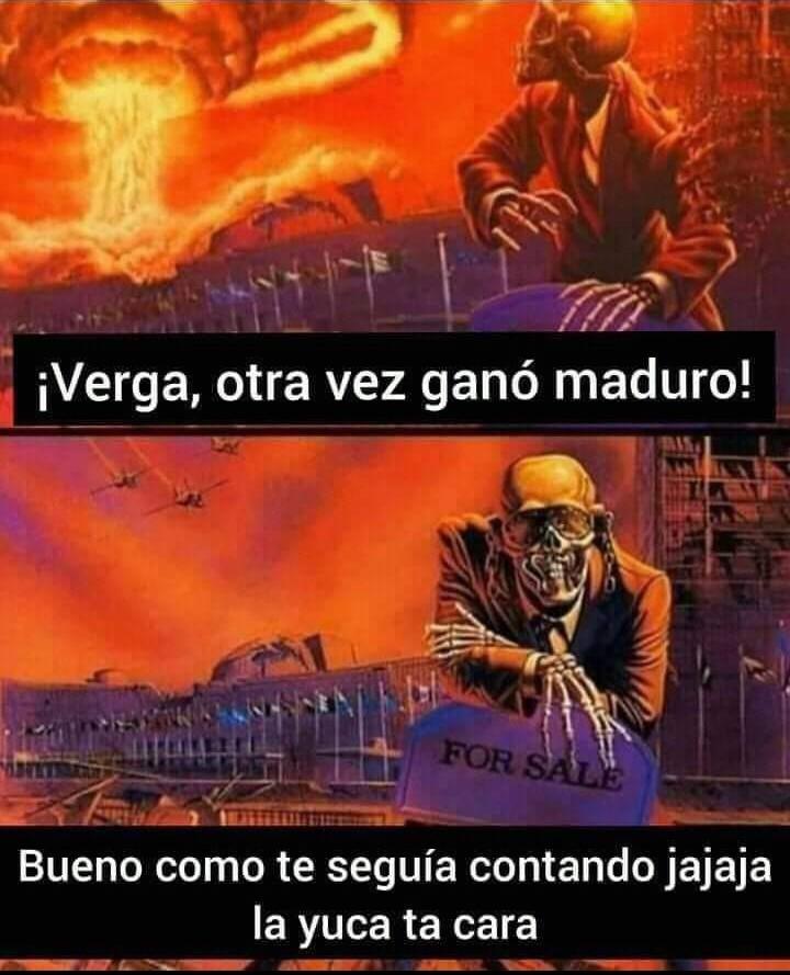 Que pasaría de Dave Mustaine fuera a Venezuela? - meme