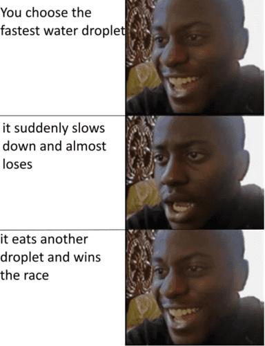 I had faith in you the whole time - meme