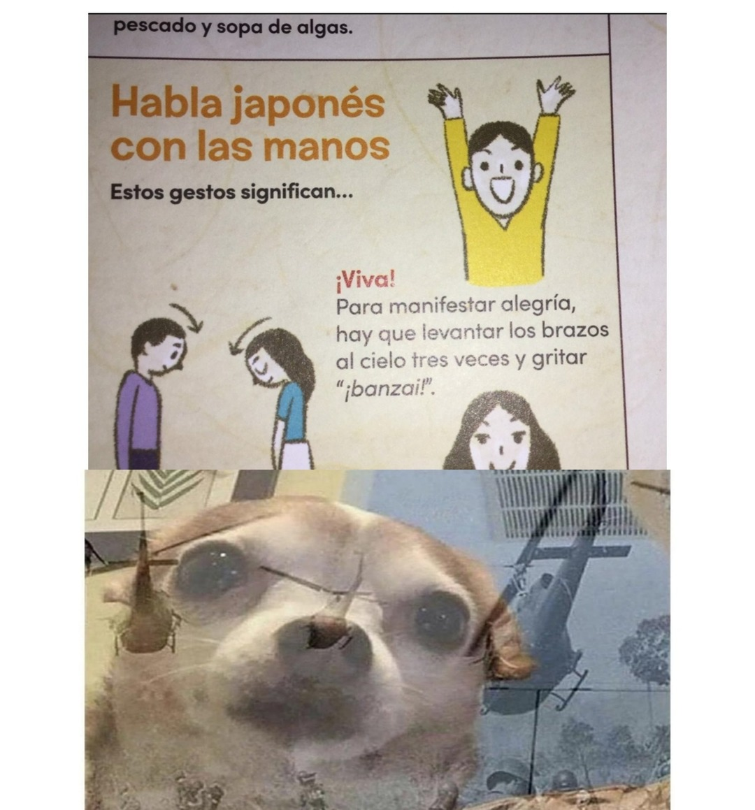 manos - meme
