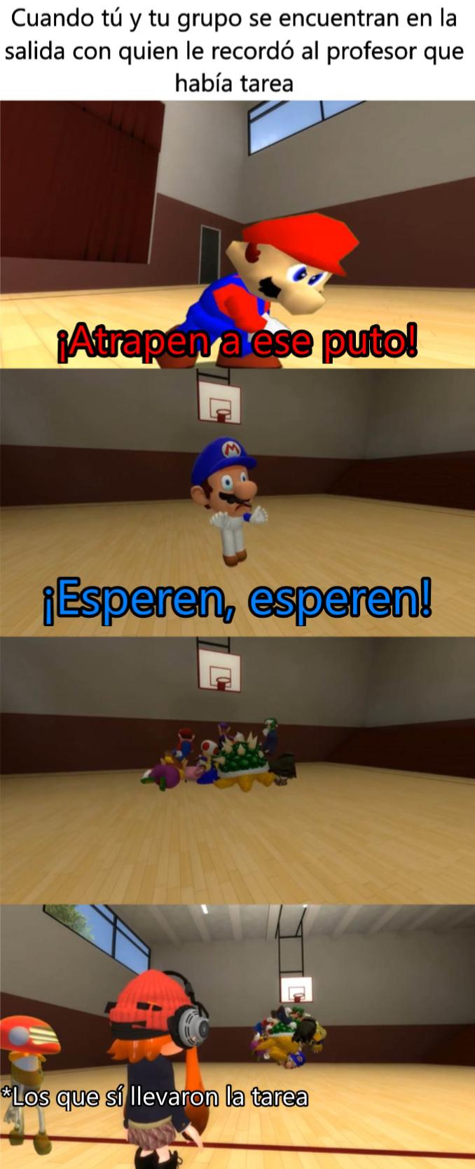 Mario University - meme