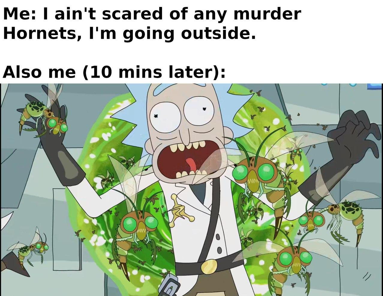 I ain't scared - meme