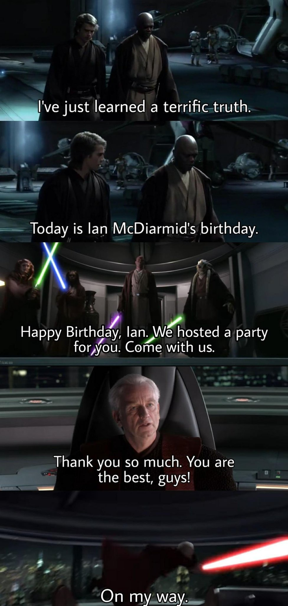 Birthday time - meme