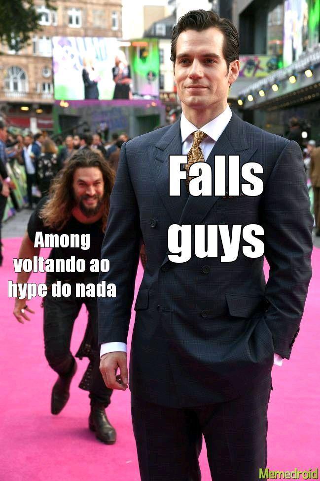 Não seu escrever falls guys - meme