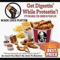 Black lives platter