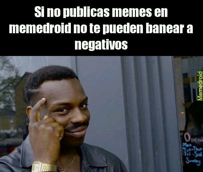 Primer meme no lo baneem