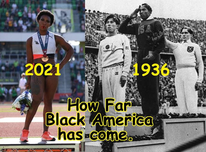 African American Progress - meme