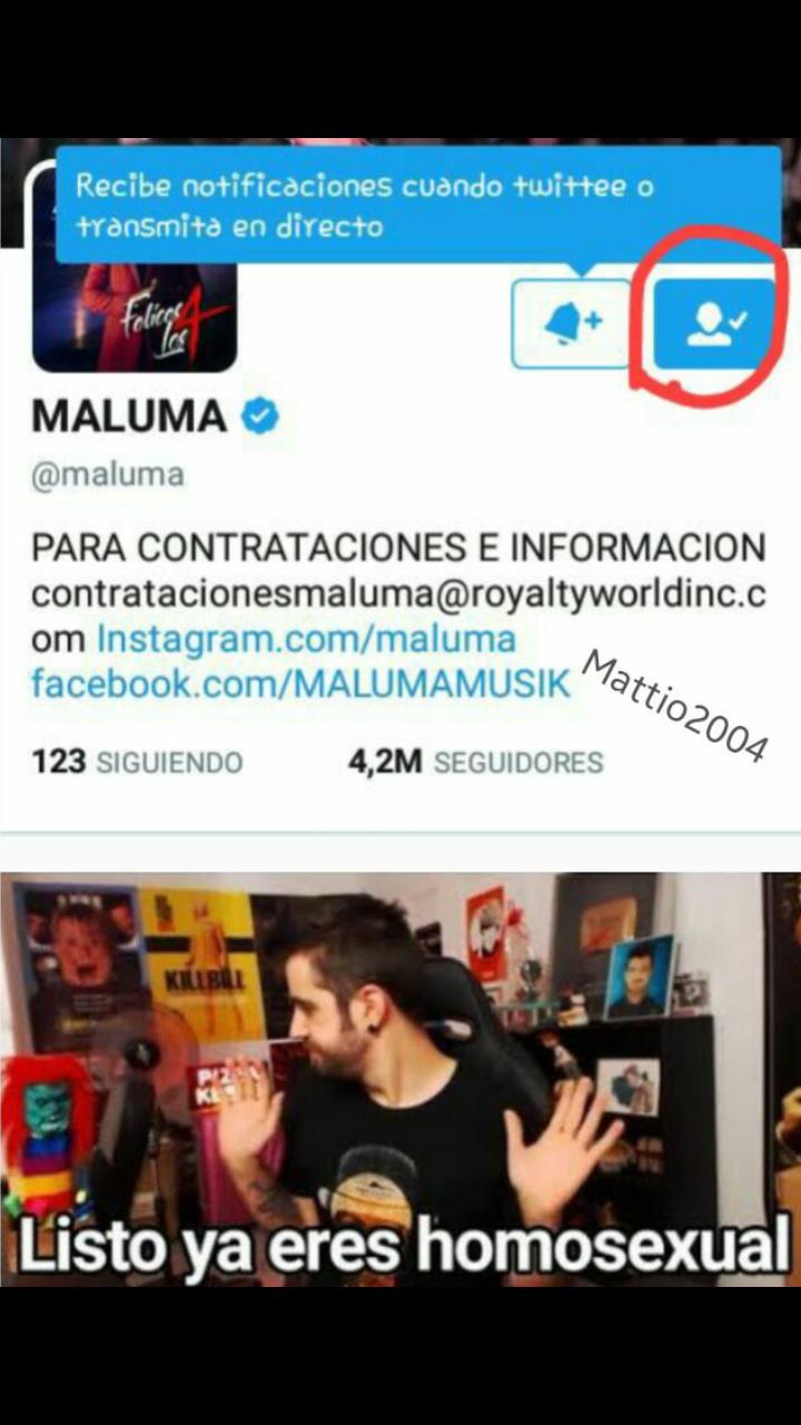 Maluma es mierda - meme