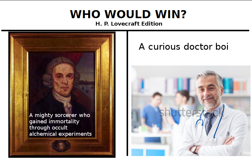 Joseph Curwen, anyone? - meme