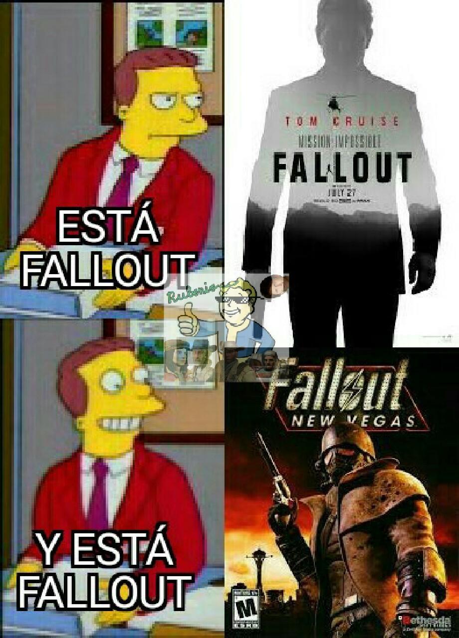 El verdadero Fallout - meme