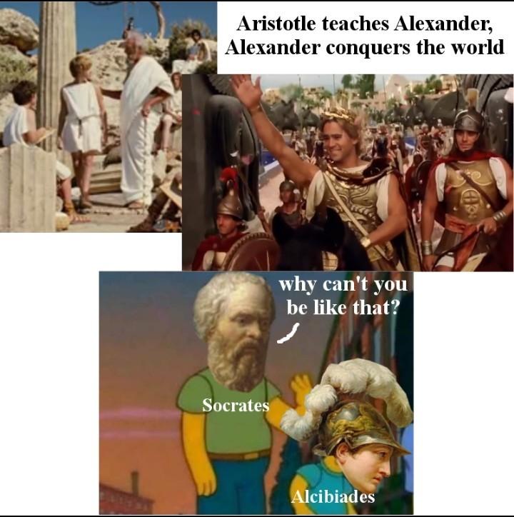 Alcibiades time - meme