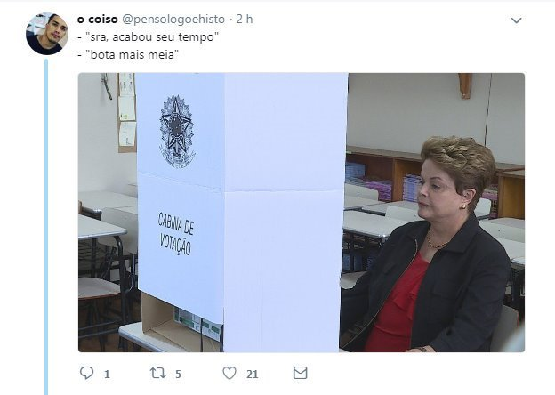 Dilma do CS - meme