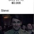 Steve: interessante