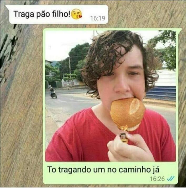 Craque neto says: PAAAO!! - meme