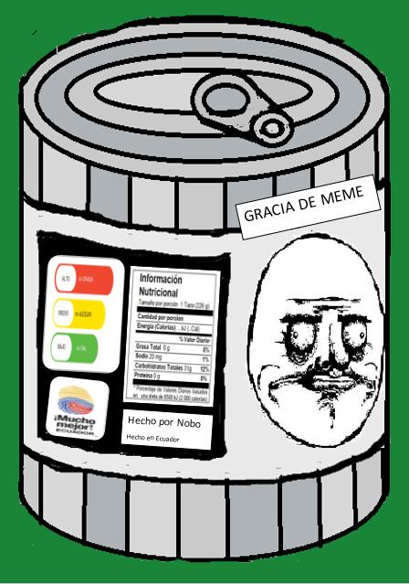 Ya llego el nuevo producto: GRACIA DE MEME