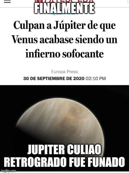 Júpiter CTM - meme