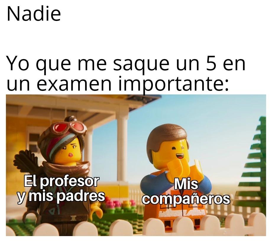 Era complicado el examen, poca coña - meme