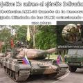 Dios el AMX-30 fue el primer tanque que ví en mi vida, luego el T-72B y el AMX-13 en un desfile en mi ciudad