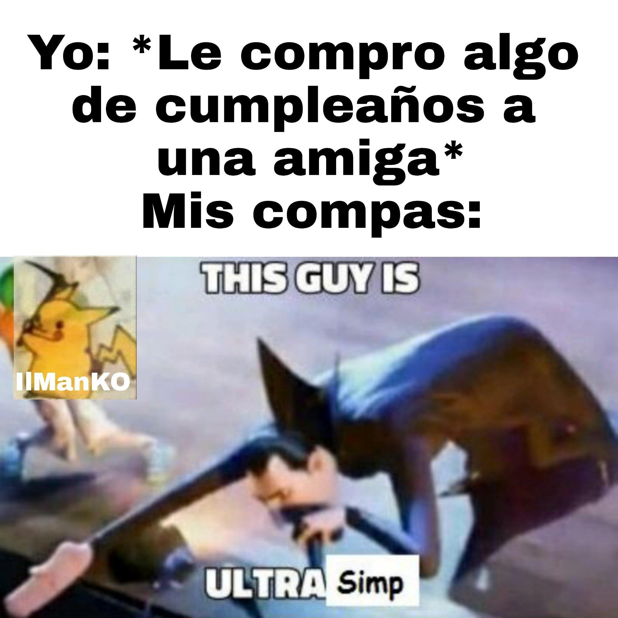 Ultra Simp - meme